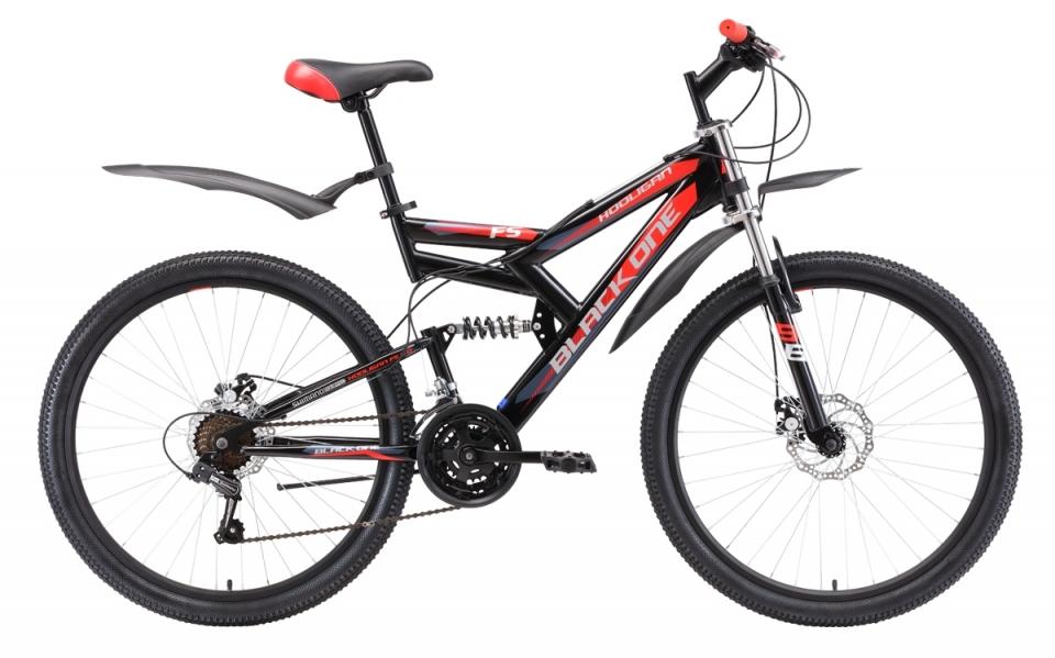 Купить Велосипед Black One Hooligan FS 26 D 2018