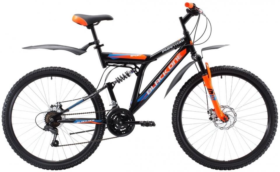 Купить Велосипед Black One Phantom FS 26 D 2018