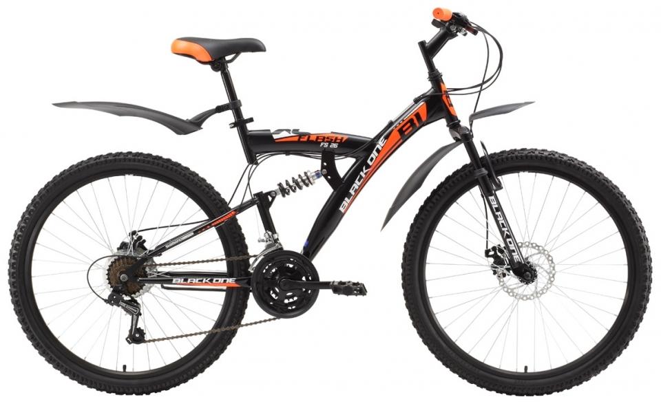 Купить Велосипед Black One Flash FS 26 D 2018