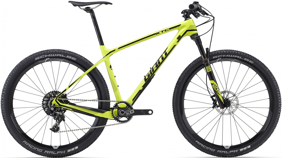 Купить Велосипед Giant XtC Advanced SL 27.5 1 2016