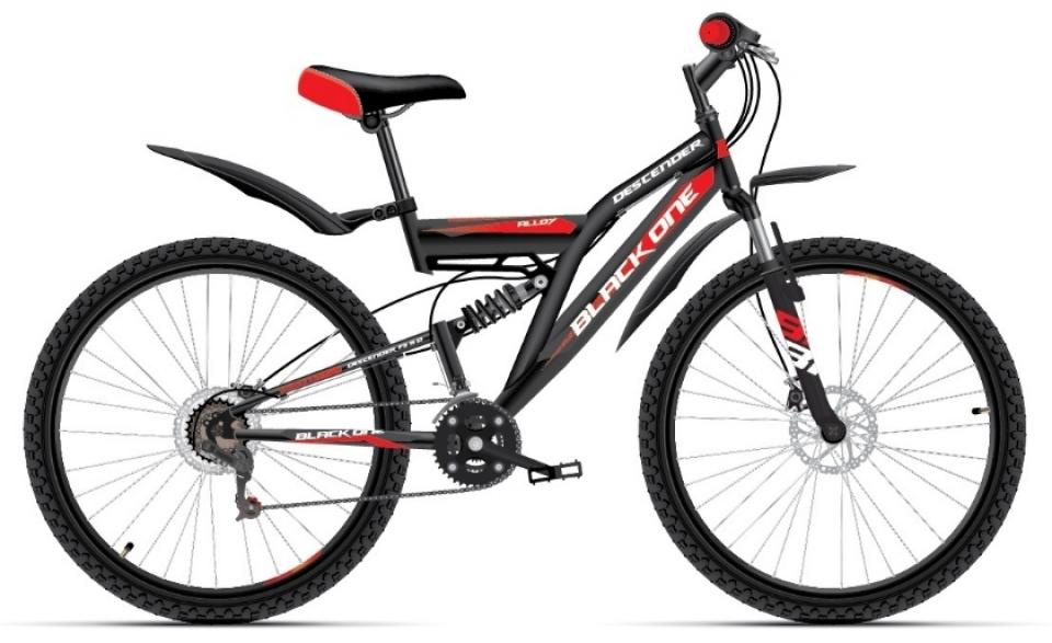 Купить Велосипед Black One Descender FS 26 D Alloy 2018