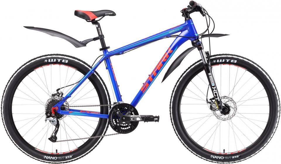Велосипед STARK Tactic 27.5 D 2017  - купить со скидкой